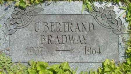 BRADWAY, G BERTRAND - Berkshire County, Massachusetts   G BERTRAND BRADWAY - Massachusetts Gravestone Photos