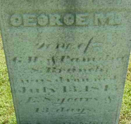 BRANCH, GEORGE M - Berkshire County, Massachusetts   GEORGE M BRANCH - Massachusetts Gravestone Photos