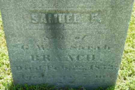 BRANCH, SAMUEL F - Berkshire County, Massachusetts   SAMUEL F BRANCH - Massachusetts Gravestone Photos