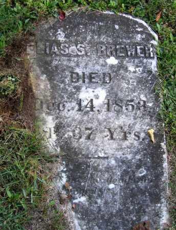 BREWER, ELIAS S. - Berkshire County, Massachusetts   ELIAS S. BREWER - Massachusetts Gravestone Photos