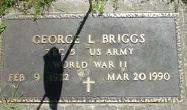 BRIGGS, GEORGE L - Berkshire County, Massachusetts   GEORGE L BRIGGS - Massachusetts Gravestone Photos