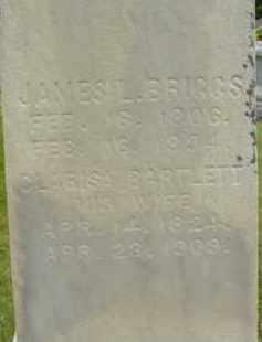BRIGGS, JAMES L - Berkshire County, Massachusetts | JAMES L BRIGGS - Massachusetts Gravestone Photos