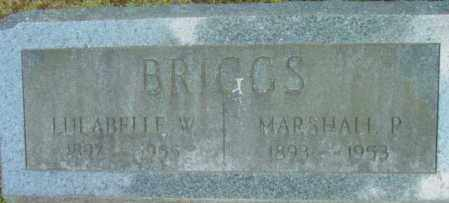 BRIGGS, MARSHALL P - Berkshire County, Massachusetts | MARSHALL P BRIGGS - Massachusetts Gravestone Photos