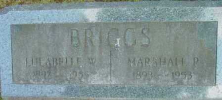 BRIGGS, LULABELLE W - Berkshire County, Massachusetts | LULABELLE W BRIGGS - Massachusetts Gravestone Photos