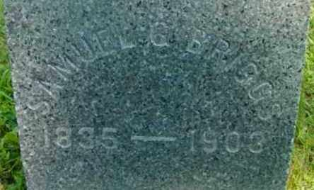 BRIGGS, SAMUEL G - Berkshire County, Massachusetts | SAMUEL G BRIGGS - Massachusetts Gravestone Photos