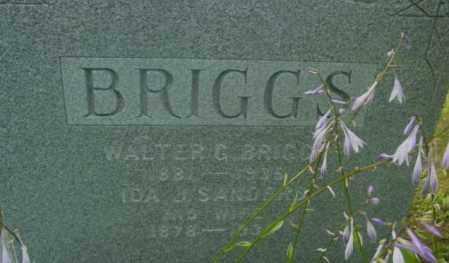 BRIGGS, WALTER G - Berkshire County, Massachusetts   WALTER G BRIGGS - Massachusetts Gravestone Photos