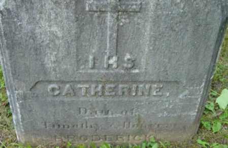 BRODERICK, CATHERINE - Berkshire County, Massachusetts   CATHERINE BRODERICK - Massachusetts Gravestone Photos