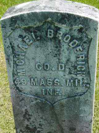 BRODERICK, MICHAEL - Berkshire County, Massachusetts   MICHAEL BRODERICK - Massachusetts Gravestone Photos