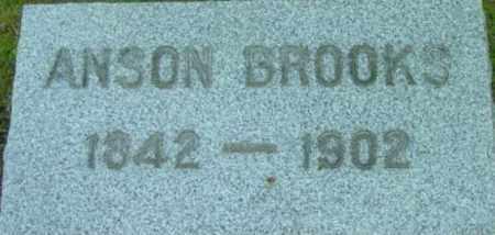 BROOKS, ANSON - Berkshire County, Massachusetts | ANSON BROOKS - Massachusetts Gravestone Photos