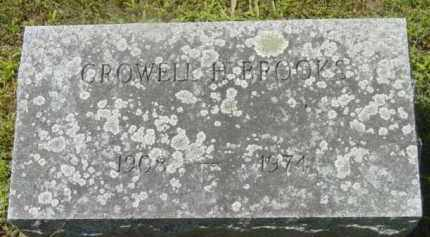 BROOKS, CROWELL H - Berkshire County, Massachusetts | CROWELL H BROOKS - Massachusetts Gravestone Photos