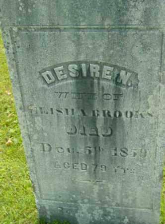 BROOKS, DESIRE N - Berkshire County, Massachusetts | DESIRE N BROOKS - Massachusetts Gravestone Photos