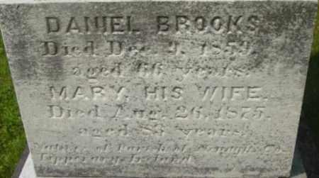 BROOKS, DANIEL - Berkshire County, Massachusetts | DANIEL BROOKS - Massachusetts Gravestone Photos