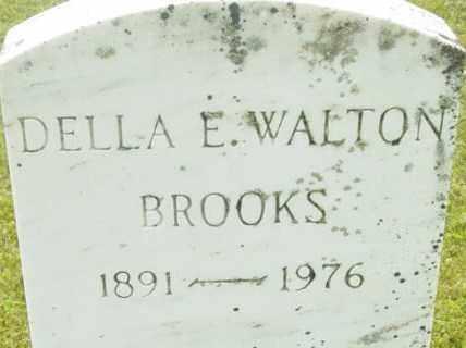 BROOKS, DELLA E - Berkshire County, Massachusetts | DELLA E BROOKS - Massachusetts Gravestone Photos