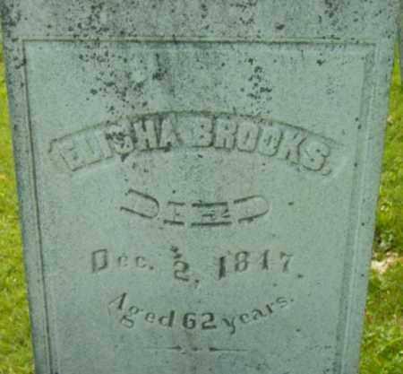 BROOKS, ELISHA - Berkshire County, Massachusetts | ELISHA BROOKS - Massachusetts Gravestone Photos