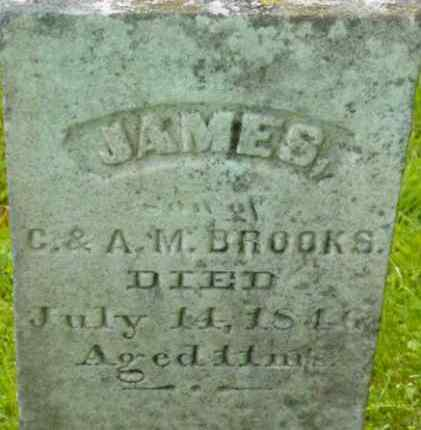 BROOKS, JAMES - Berkshire County, Massachusetts | JAMES BROOKS - Massachusetts Gravestone Photos