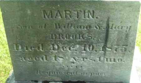 BROOKS, MARTIN - Berkshire County, Massachusetts | MARTIN BROOKS - Massachusetts Gravestone Photos