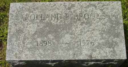 BROOKS, ROLLAND R - Berkshire County, Massachusetts | ROLLAND R BROOKS - Massachusetts Gravestone Photos