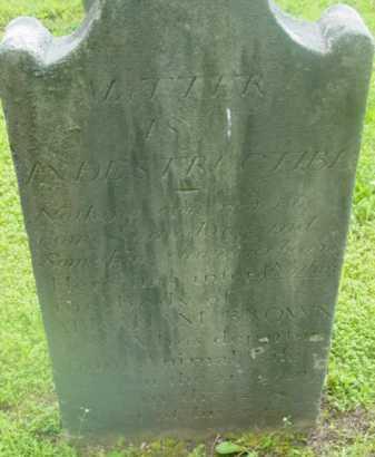 BROWN, ABRAHAM - Berkshire County, Massachusetts | ABRAHAM BROWN - Massachusetts Gravestone Photos