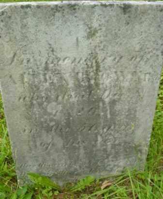BROWN, ALLEN - Berkshire County, Massachusetts | ALLEN BROWN - Massachusetts Gravestone Photos