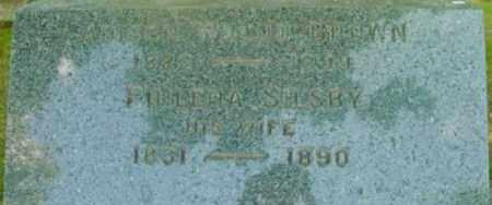 BROWN, PHILENA - Berkshire County, Massachusetts | PHILENA BROWN - Massachusetts Gravestone Photos