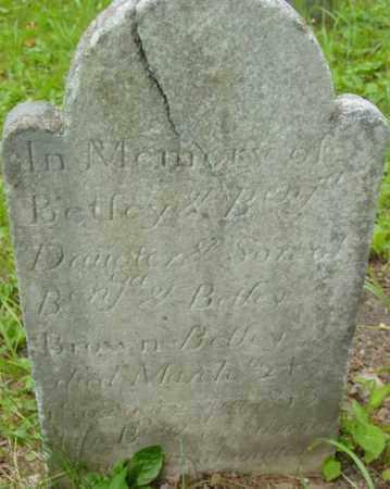 BROWN, BETSEY - Berkshire County, Massachusetts | BETSEY BROWN - Massachusetts Gravestone Photos