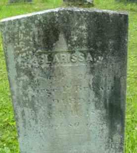 BROWN, CLARISSA - Berkshire County, Massachusetts | CLARISSA BROWN - Massachusetts Gravestone Photos