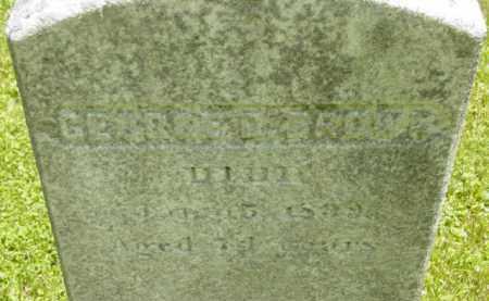 BROWN, GEORGE D - Berkshire County, Massachusetts | GEORGE D BROWN - Massachusetts Gravestone Photos