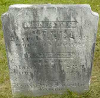 BROWN, HARRIET - Berkshire County, Massachusetts | HARRIET BROWN - Massachusetts Gravestone Photos