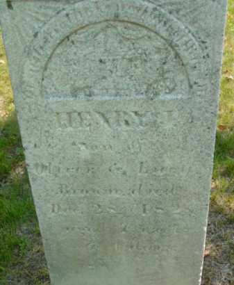 BROWN, HENRY J - Berkshire County, Massachusetts   HENRY J BROWN - Massachusetts Gravestone Photos