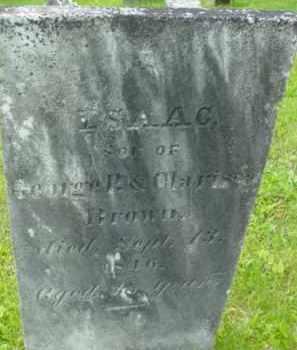 BROWN, ISAAC - Berkshire County, Massachusetts | ISAAC BROWN - Massachusetts Gravestone Photos