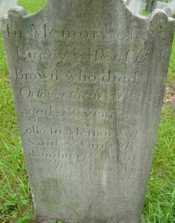 BROWN, NARSISA - Berkshire County, Massachusetts   NARSISA BROWN - Massachusetts Gravestone Photos