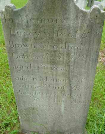 BROWN, ORRISA - Berkshire County, Massachusetts | ORRISA BROWN - Massachusetts Gravestone Photos