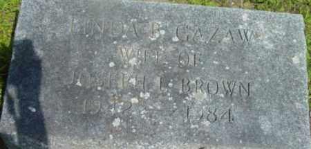 BROWN, LINDA B - Berkshire County, Massachusetts | LINDA B BROWN - Massachusetts Gravestone Photos