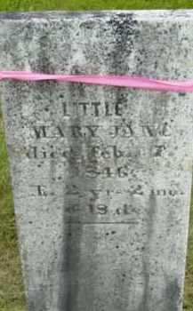 BROWN, MARY JANE - Berkshire County, Massachusetts | MARY JANE BROWN - Massachusetts Gravestone Photos