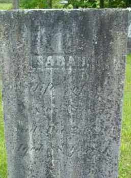 BROWN, SARAH - Berkshire County, Massachusetts   SARAH BROWN - Massachusetts Gravestone Photos