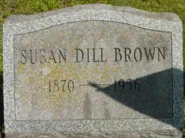 BROWN, SUSAN - Berkshire County, Massachusetts   SUSAN BROWN - Massachusetts Gravestone Photos