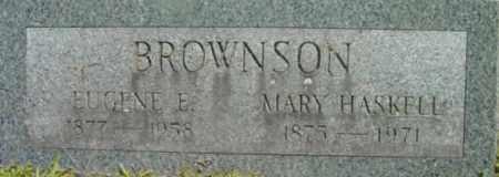 BROWNSON, EUGENE E - Berkshire County, Massachusetts | EUGENE E BROWNSON - Massachusetts Gravestone Photos