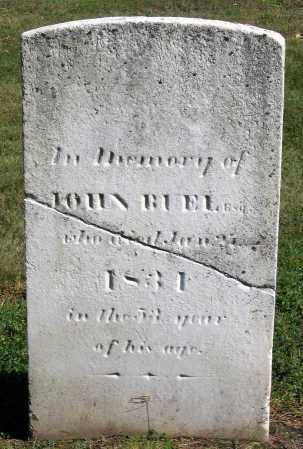 BUEL, JOHN - Berkshire County, Massachusetts | JOHN BUEL - Massachusetts Gravestone Photos