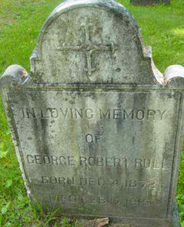 BULL, GEORGE ROBERT - Berkshire County, Massachusetts | GEORGE ROBERT BULL - Massachusetts Gravestone Photos