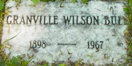 BULL, GRANVILLE WILSON - Berkshire County, Massachusetts | GRANVILLE WILSON BULL - Massachusetts Gravestone Photos