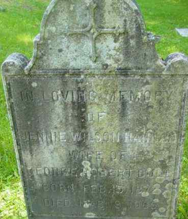 BULL, JENNIE HANNAH - Berkshire County, Massachusetts   JENNIE HANNAH BULL - Massachusetts Gravestone Photos