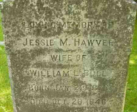 BULL, JESSIE M - Berkshire County, Massachusetts | JESSIE M BULL - Massachusetts Gravestone Photos