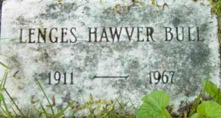 BULL, LENGES HAWVER - Berkshire County, Massachusetts | LENGES HAWVER BULL - Massachusetts Gravestone Photos