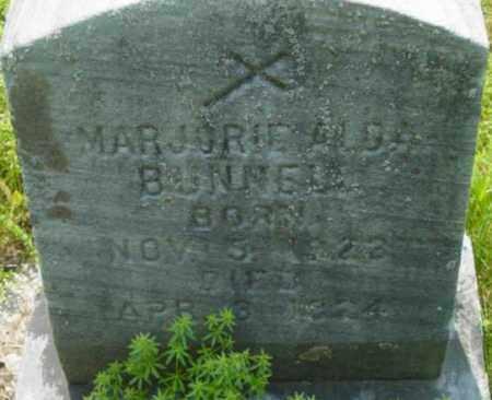 BUNNER, MARJORIE ALDA - Berkshire County, Massachusetts | MARJORIE ALDA BUNNER - Massachusetts Gravestone Photos