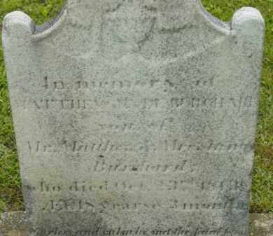 BURCHARD, MATTHEW HYDE - Berkshire County, Massachusetts   MATTHEW HYDE BURCHARD - Massachusetts Gravestone Photos