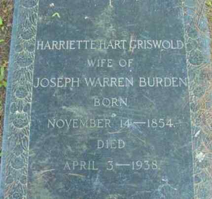 GRISWOLD, HARRIETTE HART - Berkshire County, Massachusetts | HARRIETTE HART GRISWOLD - Massachusetts Gravestone Photos