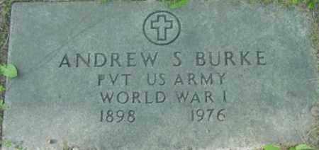 BURKE, ANDREW S - Berkshire County, Massachusetts | ANDREW S BURKE - Massachusetts Gravestone Photos