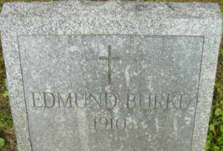 BURKE, EDMUND - Berkshire County, Massachusetts | EDMUND BURKE - Massachusetts Gravestone Photos