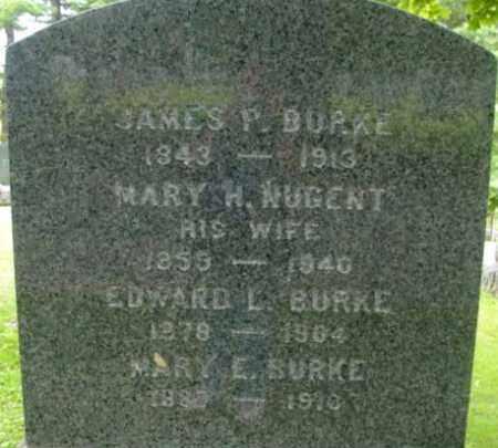 BURKE, EDWARD L - Berkshire County, Massachusetts | EDWARD L BURKE - Massachusetts Gravestone Photos