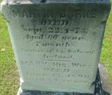 BURKE, MARTIN - Berkshire County, Massachusetts | MARTIN BURKE - Massachusetts Gravestone Photos